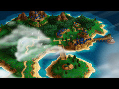 Chrono Trigger Resurrection Guardia overworld map