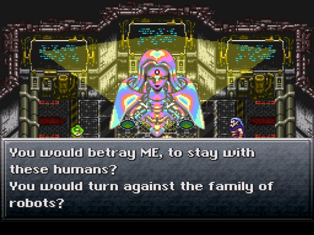 Chrono Trigger Robo Mother Brain Geno Dome