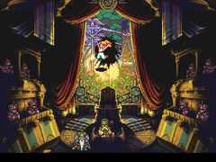 Chrono Trigger trial marle stained glass window