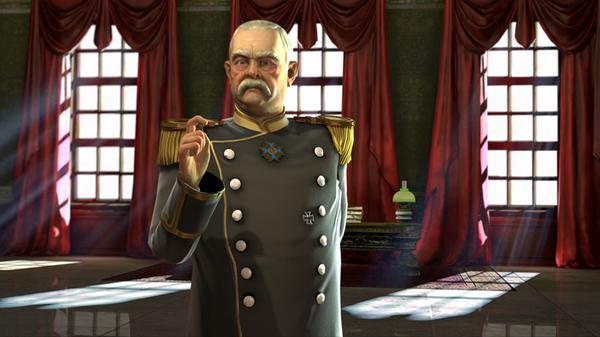 Civilization 5 Bismark Germany Cigar