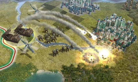 Civilization 5 Tank Artilleray