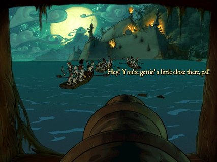 Curse Of Monkey Island Cannon Minigame