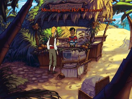 Curse Of Monkey Island Guybrush Cabana Boy