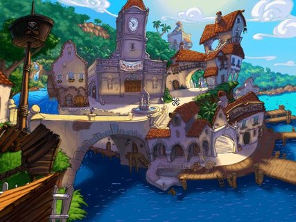 Curse Of Monkey Island Puerto Pollo