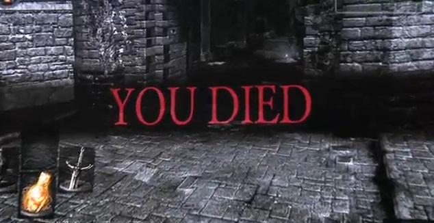 Dark Souls you Died Game Over