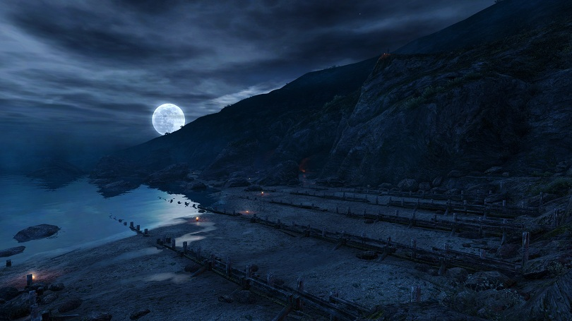 Dear Esther 11 Night Coast