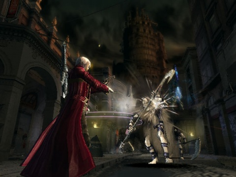 Devil may cry 3 Shooting