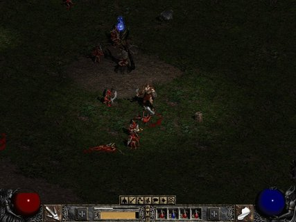 Diablo 2 Barbarian Wave Of Destruction