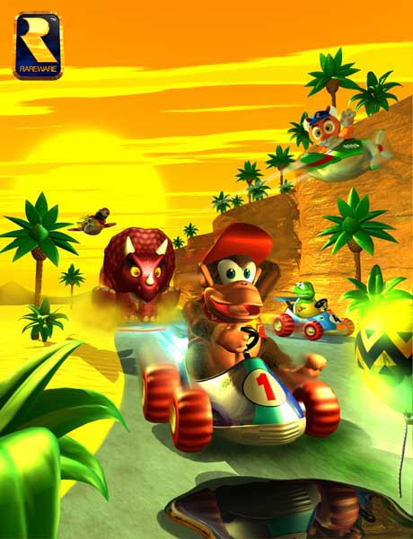 diddi kong racing