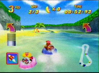 Diddy Kong Racing Hovercraft Race