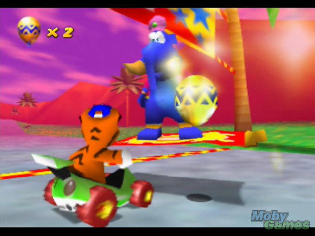 That's it for the first hour of Rare's Diddy Kong Racing,
