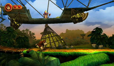 Donkey Kong Country Returns Airship