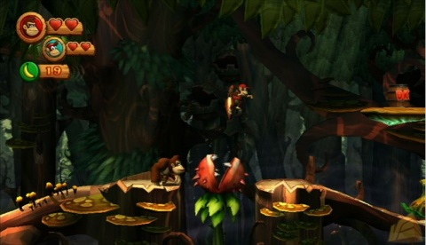 Donkey Kong Country Returns co op