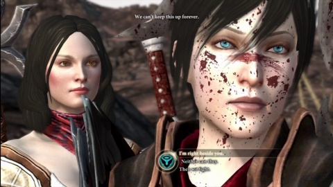 Dragon age 2 Hawke Bethany Dialog Wheel