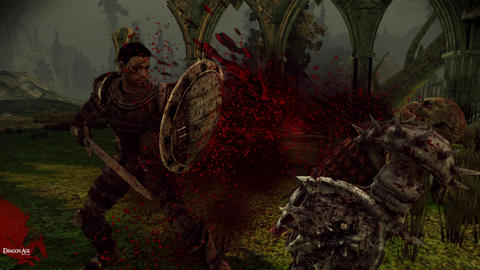 Dragon Age Origins Blood Splatter