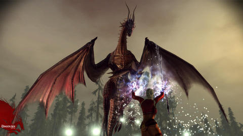 Dragon Age Origins Dragon Mage Battle