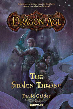 Dragon Age Stolen Throne Cover