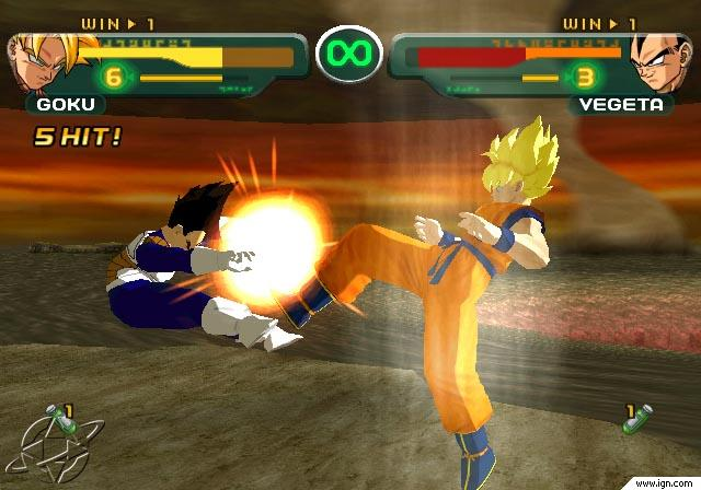 Dragon Ball Z Budokai Super Saiyan Goku Vegeta. 29 - I get the King Kai Fist