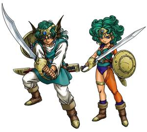 Dragon Quest 4 Heroes Solo Sofia