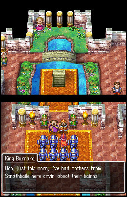 Dragon Quest 4 Ragnar King Burnard