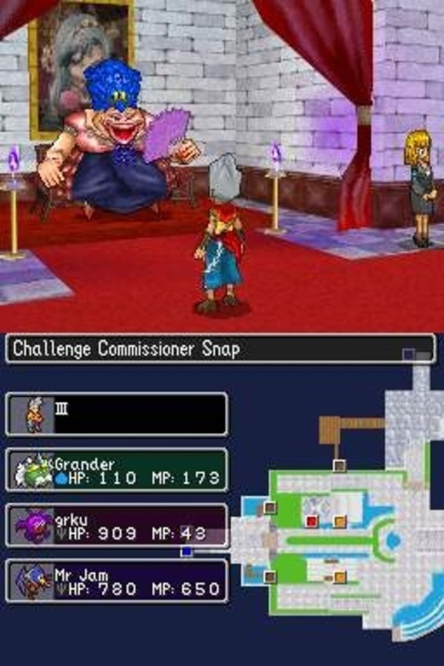 Dragon Quest Monsters Commissioner Snap