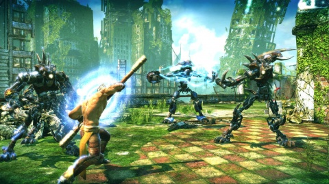 Enslaved Odyssey to the West Monkey Mech Battle