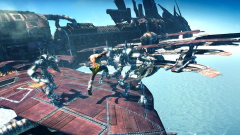 Enslaved Odyssey to the West Monkey Ship Mechs