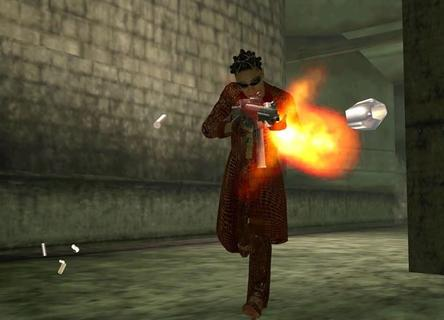 Enter The Matrix Niobe Shooting Bullet
