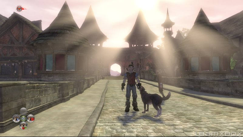 Fable 2 Bowerstone Hero dog