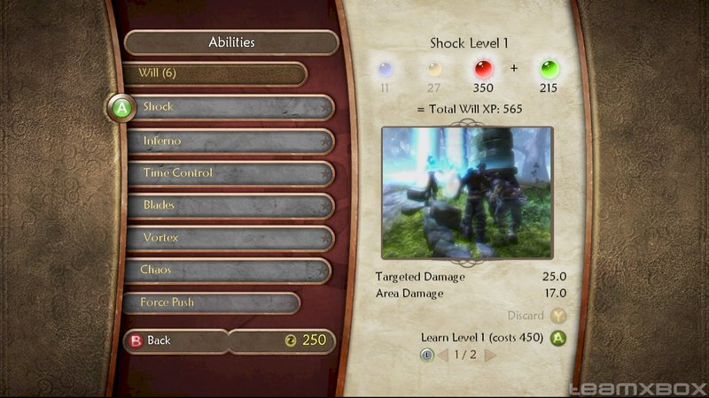 Fable 2 Hero Abilities