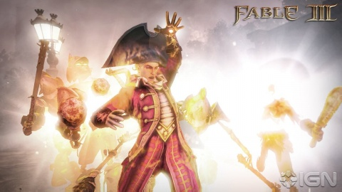 Fable 3 Pirate Mage Fireball