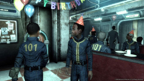 Fallout 3 Birthday Party Vault