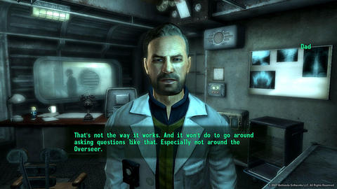 Fallout 3 Liam Neeson Dad Vault