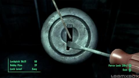 Fallout 3 Lockpicking