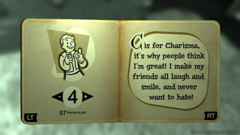 Fallout 3 Youre Special Charisma