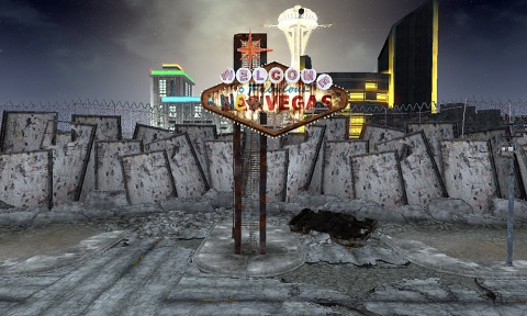 Fallout new Vegas Welcome to Fabulous Sign