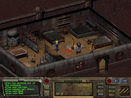 Fallout Shady Sands Building Ian
