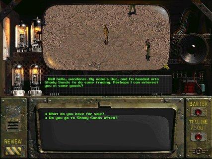 Fallout Shady Sands Duc Conversation