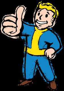 Fallout Vault Pip Boy Thumbs Up