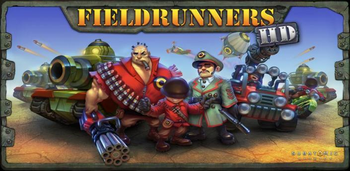Fieldrunners Cover