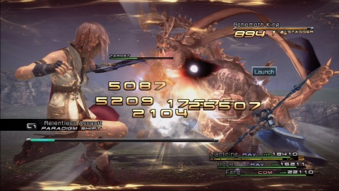 Final Fantasy 13 Lightning Battle