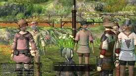 Final Fantasy 14 03 Children Garden