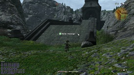 Final Fantasy 14 04 Bridge Mountains