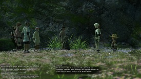 Final Fantasy 14 07 Group Flowers