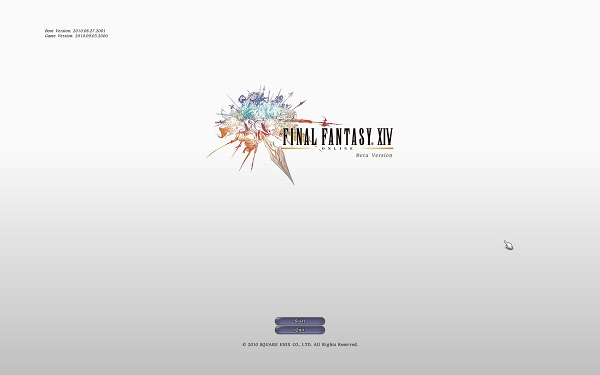 Final Fantasy 14 Title
