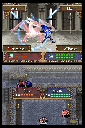 Fire Emblem Shadow Dragon Dolhr Marth