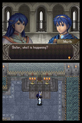 Fire Emblem Shadow Dragon Marth