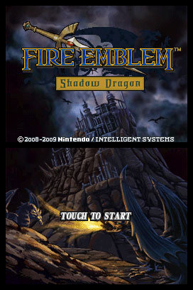 Fire Emblem Shadow Dragon Start