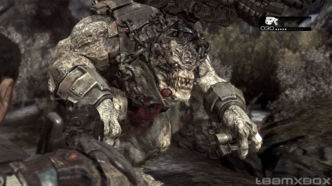 Gears of war 2 Brumak Closeup