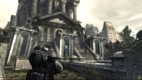 Gears Of War Marcus Beautiful Architecture